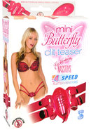 Mini Butterfly Clit Teaser With Waist And Thigh Straps -...