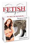 Fetish Fantasy Series Designer Cuffs Silver