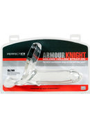 Perfect Fit Armour Knight Molded Hollow Strap-on - Sm/md -...