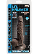 Skinsations Black Diamond Series Lil Hammer Dildo With...