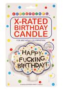 Candy Prints X-rated Birthday Candle